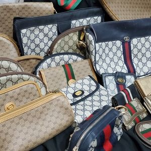 Gucci Vintage beauties -like this to tag my closet